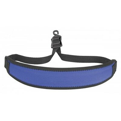 Saxophone Strap Royal with Plastic Open Hook