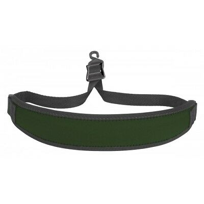 Saxophone Strap Green with Plastic Open Hook