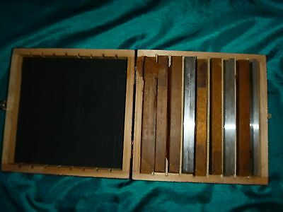 """17 Pc Precision Steel Parallel Set3/4"""" to 1-3/4"""" in 1/8"""" Increments 09972340"""