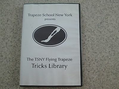 Trapeze School New York Flying Trapeze Tricks Library DVD 2009
