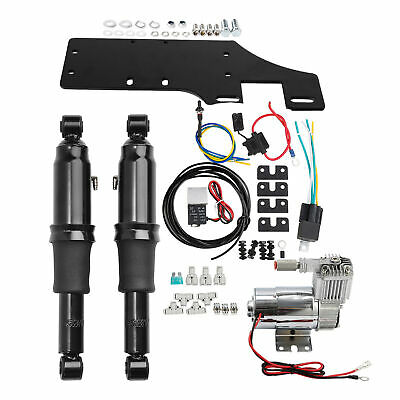 Air Ride Suspension Set For Harley Touring Electra Street Road Glide 1994-2018
