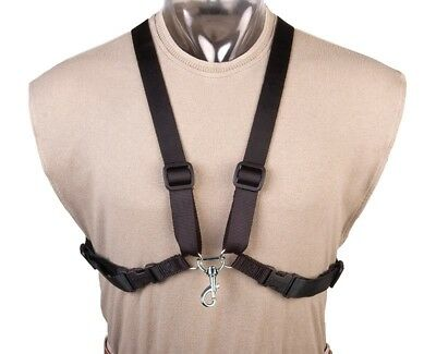 Saxophone Harness XL with Metal Swivel Hook