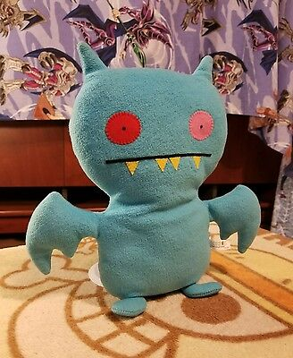 "2002 Uglydoll Approx 12"" Cold Holdy Ice Bat Citizen of Plush 90300"