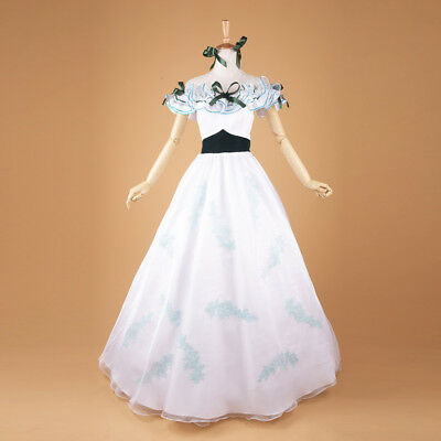 Gone with The Wind Scarlett O'Hara Costume Ball Gown Southern Belle Prom Dress