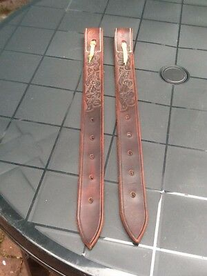 Western Saddle Cinch Straps