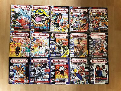 NINTENDO MAGAZINE SYSTEM - Issues 1-15 - Includes Star Fox / Tuff E Nuff Poster