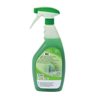 Diversey Room Care R2 Multi-Surface Cleaner and Sanitiser 750ml Trigger Spray (P