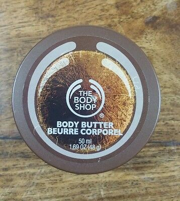 The Body Shop Coconut Body Butter 50 Ml Brand New Unused Unopened