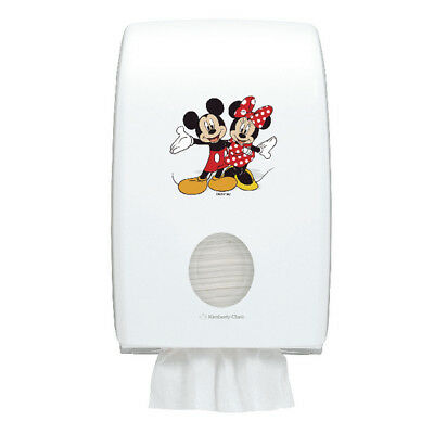 Aquarius Disney Folded Hand Towel Disp