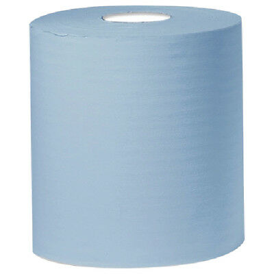 2Work Blue 2 PlyCentrefeed Roll 150 Metres (Pack of 6) KF03805