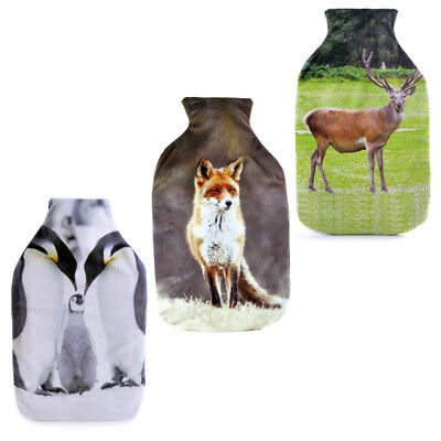 Hot Water Bottle With Removable Supersoft Brushed Velour Photo Print