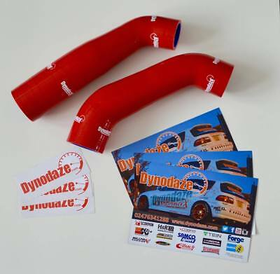 Dynodaze Mitsubishi Colt CZT, Ralliart Intercooler Uprated silicone Hose Kit Red