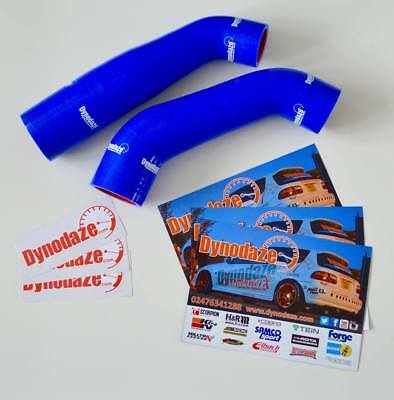 Dynodaze Mitsubishi Colt CZT, Ralliart Intercooler Uprated slicone Hose Kit Blue
