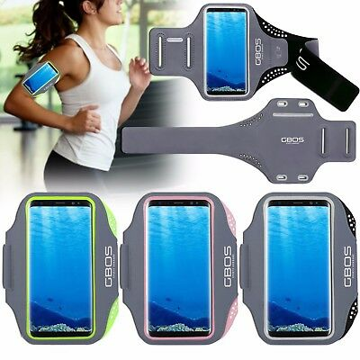 GBOS Sports Gym Exercise Armband Case Cover For Samsung Galaxy S8 Plus