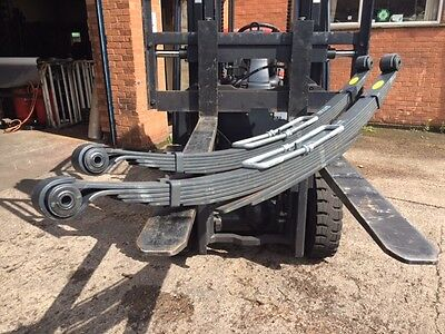 New Iveco Daily 35 - 50 Model Twin Wheel 7+2 Heavy Duty Leaf Springs - Uk Made