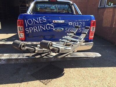 Ford Ranger Rear Leaf Springs - Heavy Duty 6 Leaf - 2012 On New Shape