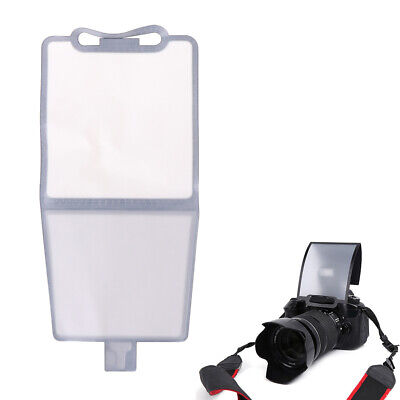 Universal Soft Screen Pop-Up Flash Diffuser Camera Tools for Nikon Canon Pentax