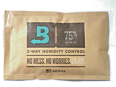 Boveda 75-Percent RH Individually Over Wrapped 2-Way Humidity Control Pack, 60gm