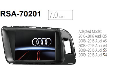 "7"" Android 6.0 GPS Navigation Unit for Audi A4/S4/A5/S5/Q5 B8 (8K, 8T, 8R)"
