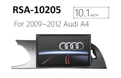"""10.1"""" Android 6.0 GPS Navigation Unit for Audi A4(2008-2012) B8 8K"""