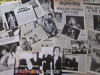 Huge Joblot of Articles & Cuttings - Rolling Stones