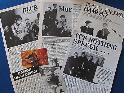 Joblot of Articles & Cuttings - Blur