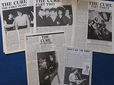 Joblot of Articles & Cuttings - The Cure