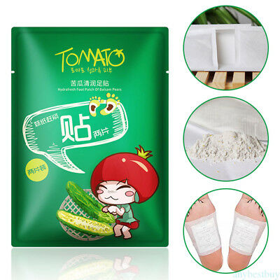 Bitter Gourd Foot Patch Repair Physical Insomnia Moisturizing Soft Foot Care