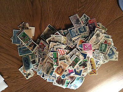 Off Paper US Postage Stamp Charity Mixture