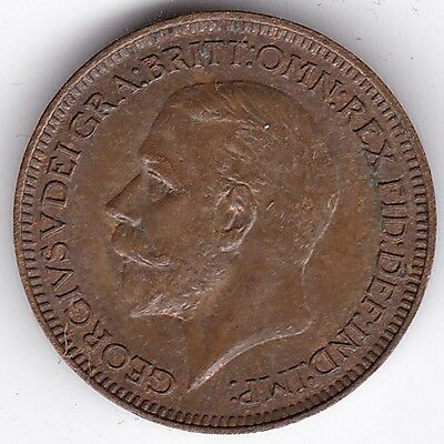 1933 George VI Farthing***Collectors***