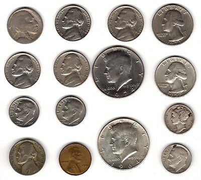 Collection Of U.S.A.Coins Including Silver***Collectors***(US15)