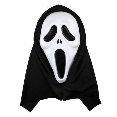 Maschera Scream Scary Movie Halloween Horror Fantasma Spirito Rigida Carnevale