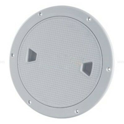 "SEAFLO 8"" Boat Round Deck Inspection Access Hatch With Detachable Cover 250 R6K1"