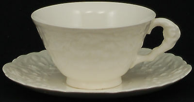 Pope Gosser Rose Point Cup and Saucer