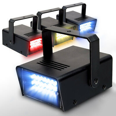 Electromarket 153.325 Colour LED Strobe Light Pack
