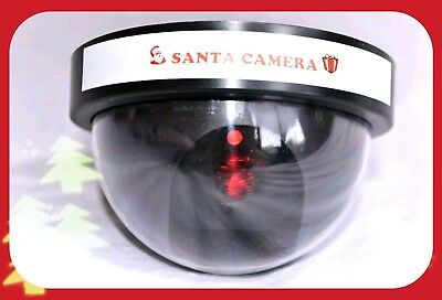 Santa Christmas Cam - Dummy CCTV Camera For The Kids- fake realistic looking Cam