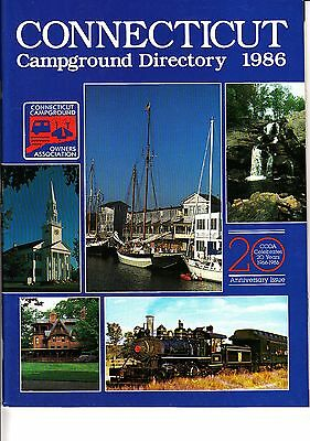 Connecticut Campground Directory 1986 Anniversary Issue