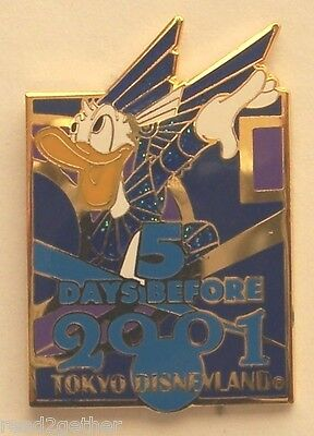 Disney Pin TDL 5 Days Before 2001 Donald Duck