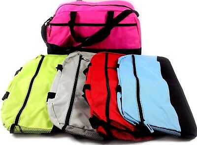 Sports Duffel Fitness Travel Gym Holdall Training Kit Large Big Bag College New