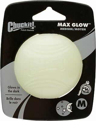 Chuckit Glow Ball, Small, Medium, Large and X-large