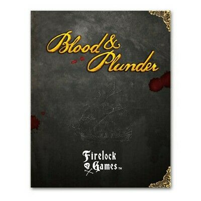 Blood and Plunder Rulebook Firelock Games Brand New FGD 0001