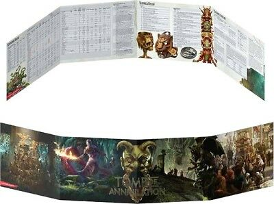 D&D Tomb Of Annihilation DM Screen Gale Force Nine New Dungeons and Dragons