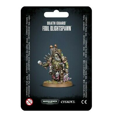 Death Guard Foul Blightspawn Games Workshop Warhammer 40000 Chaos Space Marines