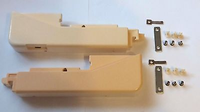 P23 Brother Knitting Machine Ribber Kh-836 Kh836 Side End Panels & Fixings