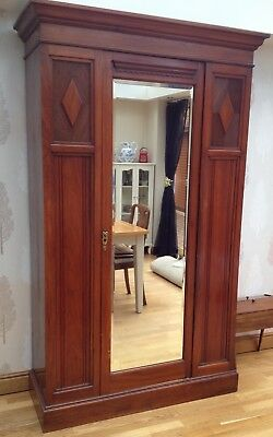 Antique Hallway Cupboard - Wardrobe pick up M1 junc 37