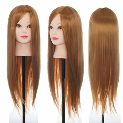 Loog Hair Styling Hairdressing Practice Head Training Mannequin & Clamp