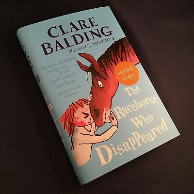 The Racehorse Who Disappeared - Clare Balding - Signed 1st/1st Hardback HB *NEW*