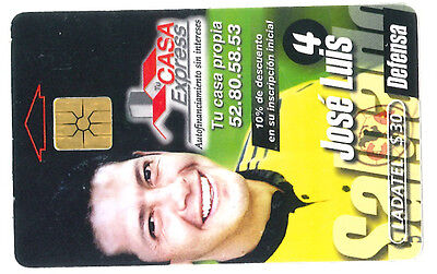 Mexique  - phone card used - racing moto