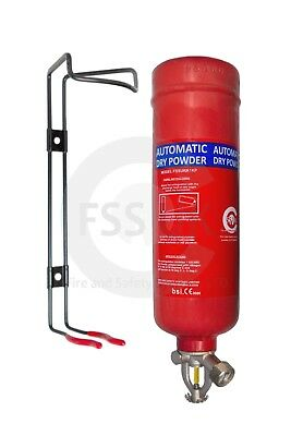 New Fss Uk, 1Kg Abc Dry Powder Automatic Fire Extinguisher. Ce. All Types Fire