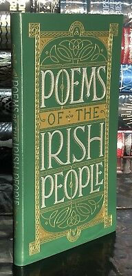 POEMS OF THE IRISH PEOPLE Brand New Leather Bound Collectible Gift Book